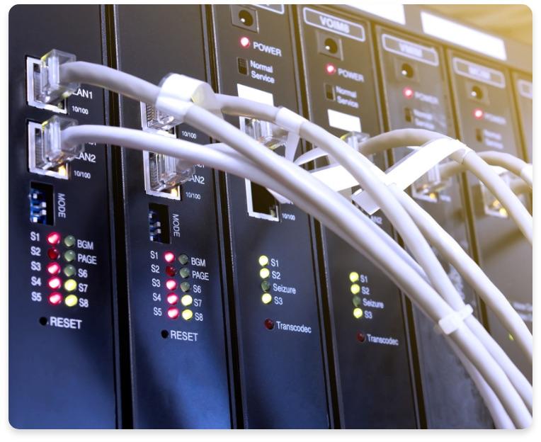 connection téléphone voip